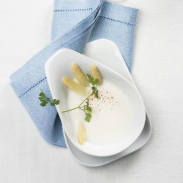 SPARGELCREME­SUPPE